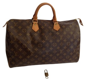 Louis Vuitton Monogram Speedy 40 Monogram Speedy Speedy 40 brown Travel Bag