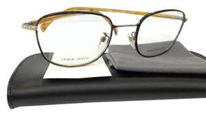 Giorgio Armani NEW GIORGIO ARMANI GA880 COLOR O7S DARK HAVANNA GOLD METAL EYEGLASSES ITALY