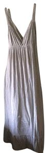 Gray Maxi Dress by Abercrombie & Fitch
