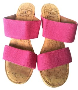 Lucky Brand Pink Wedges