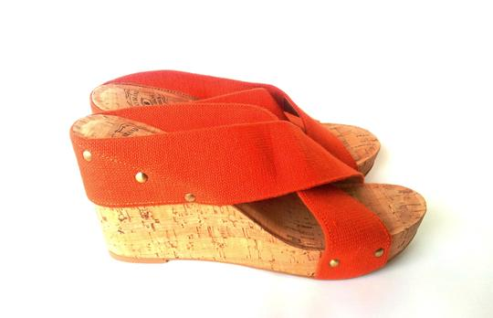 Lucky Brand Orange Wedges