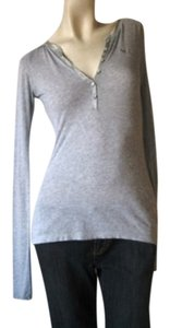 Abercrombie & Fitch Top Light Grey