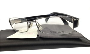 Giorgio Armani NEW GIORGIO ARMANI GA 745 COLOR CVL RUTHENIUM METAL EYEGLASSES FRAME MADE IN ITALY