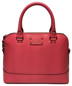 Kate Spade Small Rachelle Satchel in Peony