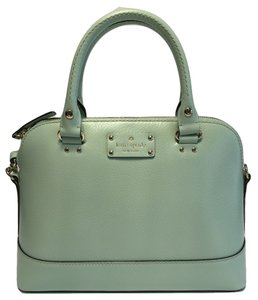 Kate Spade Rachelle Mint Sale Satchel in Mint Mojito