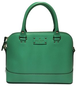 Kate Spade Michael Kors Small Satchel in Bud Green
