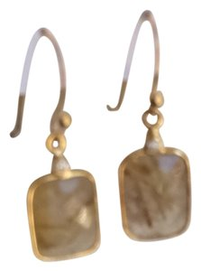 NuNu Designs Chalcedony Drop Earrings