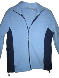 Athletic Works Fleece Comfy Warm LIGHT BLUE/DARK BLUE Jacket