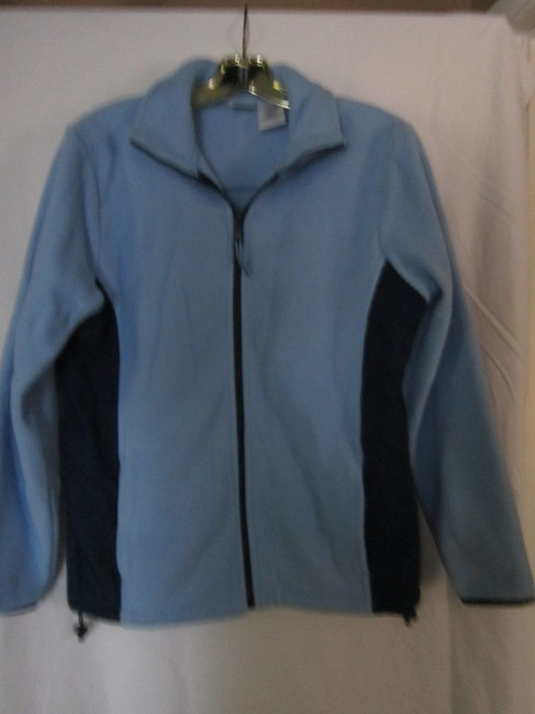 Athletic Works Fleece Comfy Warm LIGHT BLUE/DARK BLUE Jacket Image 2