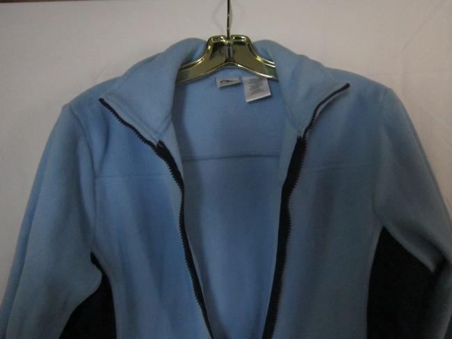 Athletic Works Fleece Comfy Warm LIGHT BLUE/DARK BLUE Jacket Image 3