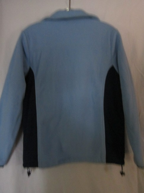 Athletic Works Fleece Comfy Warm LIGHT BLUE/DARK BLUE Jacket Image 4