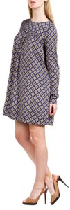 SUNO short dress Multi Print Long Sleeve on Tradesy
