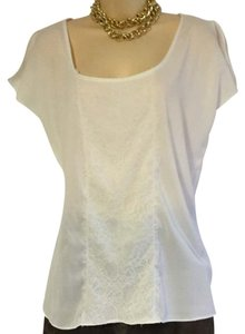 Cynthia Rowley Lace Applique Xl Top - item med img