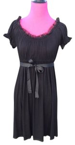 Betsey Johnson short dress Black Designer Babydoll on Tradesy