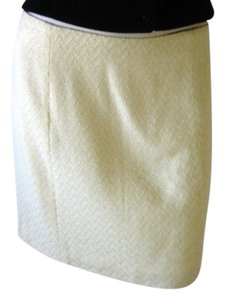 Moda International Mini Skirt Ivory