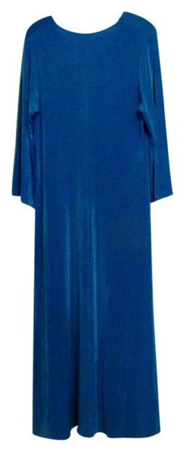 Blue Maxi Dress by Citiknits Image 0