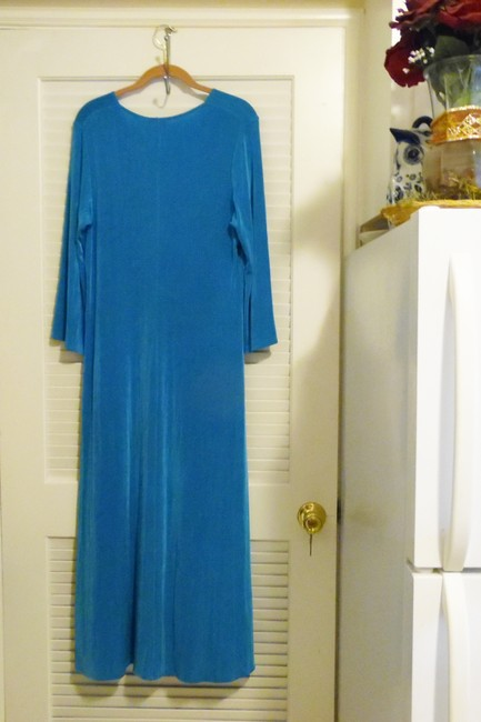 Blue Maxi Dress by Citiknits Image 1