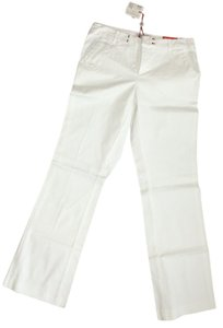 Esprit Weekend Fit Flared Trouser Flare Pants White