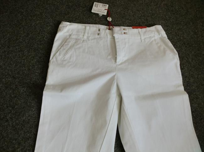 Esprit Weekend Fit Trouser Flare Pants White
