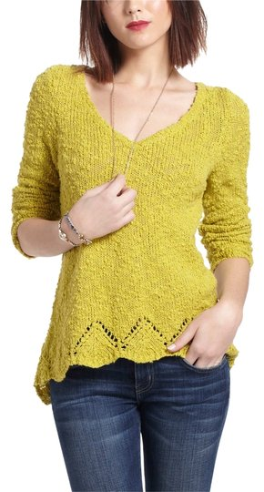 lovely Anthropologie Peaked Pointelle Sweater - 48% Off Retail - kdb ... 70db1647d