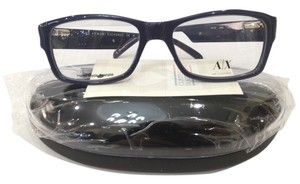 A|X Armani Exchange New Armani Exchange AX152 Col AMK Blue Plastic Eyeglasses Frame 53mm