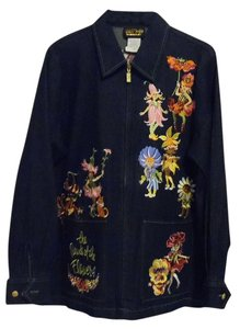 Bob Mackie Navy Jacket