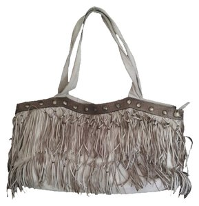 RIPANO OF COLOMBIA Fringed Tote