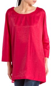 Elizabeth and James Red Dress & Silk Tunic