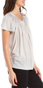 Chloé Chloe Light Babydoll T Shirt Grey