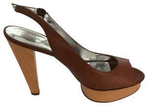 Jessica Simpson Tan Platforms