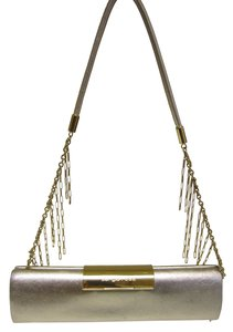 Sergio Rossi Hardware gold Clutch - item med img