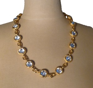 Fendi Fendi Crystal Reversible Necklace