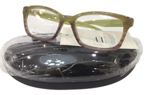 A|X Armani Exchange NEW Armani Exchange Ax232 Color 0D9N Green Plastic Eyeglasses Frame 50mm
