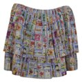 Eddie Rodriguez Mini Skirt White multi-colored Image 0