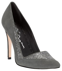 Alice + Olivia + & Deon Suede Heels High Stiletto Grey Pumps