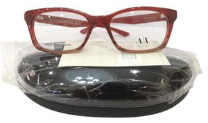 A|X Armani Exchange New Armani Exchange AX232 Col 0DGR Red Plastic Eyeglasses 50mm
