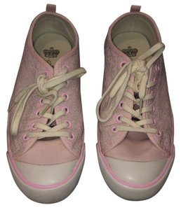 Juicy Couture Light pink with cream rubber Athletic