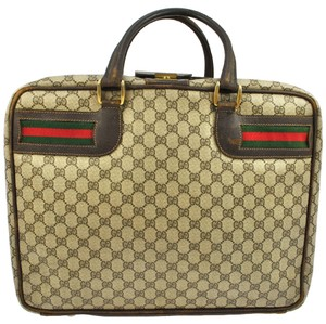 Gucci Briefcase Shoulder Wallet Travel Bag