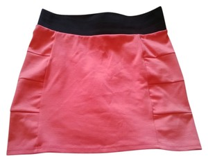 Brat Star Pencil Pencil Mini Skirt Salmon Pink