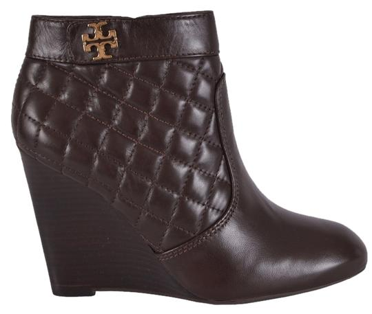 Preload https://img-static.tradesy.com/item/8485438/tory-burch-brown-women-s-leila-quilted-leather-wedge-ankle-bootsbooties-size-us-8-regular-m-b-0-2-540-540.jpg