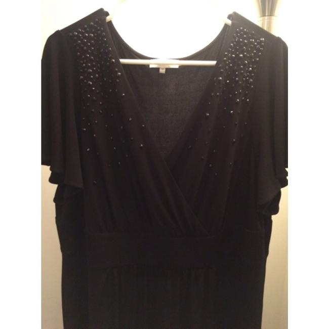 Calvin Klein Plus-size Embellished Machine Washable Flowy Dress