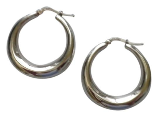 Other Sterling Silver Graduated Hoops