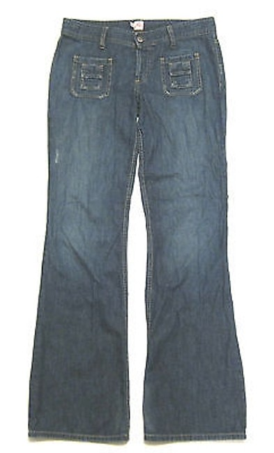 Joie Wide Sailor Super Soft Denim Flare Leg Jeans Image 1