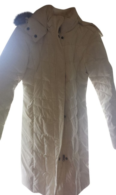 Item - White Goose Down Winter Coat Size 8 (M)