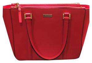 Kate Spade Tote in Chili Red
