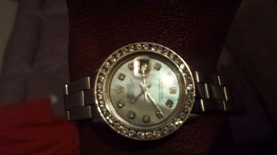 Rolex Rolex oyster pearl 2 c5s diamonds w/ Stainless Steel Watch Image 1