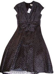 black/white polka dot Maxi Dress by Kate Spade