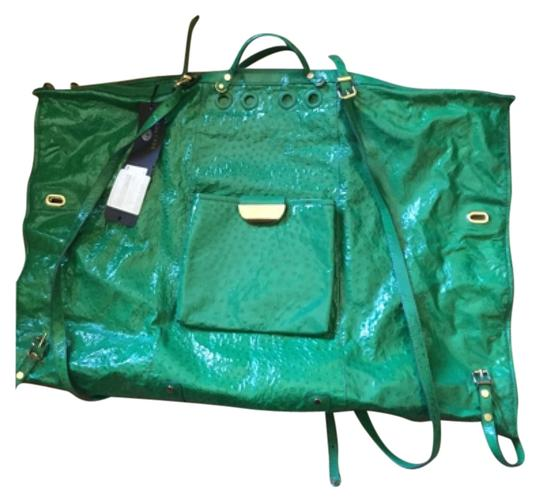 Preload https://img-static.tradesy.com/item/8489044/versace-111111111-green-ostrich-backpack-0-1-540-540.jpg