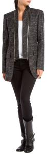 Sportmax Black Blazer Cotton Grey Jacket