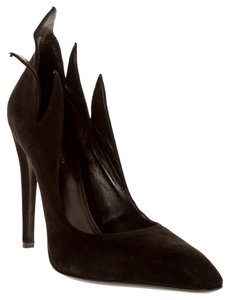 Bottega Veneta Heels Suede Heels Black Pumps
